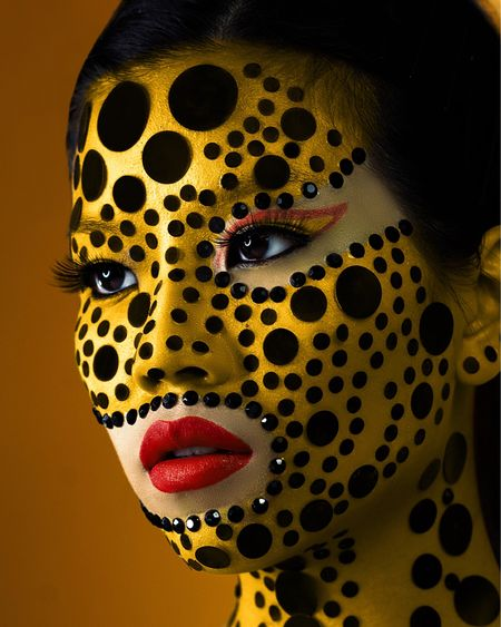 YAYOI KUSAMA INSPIRED BLACK AND YELLOW AVANT-GARDE MAKEUP  GET THE LOOK:  Makeup Revolution Conceal and Fix Mattifying Primer* Make Up For Ever 12 Flash Color Case NYX Professional Makeup Color Correcting Concealer* NYX Professional Makeup Conceal. Correct. Contour. (Light)* NYX Professional Makeup Sweet Cheeks Glow Blush in Silence is Golden* NYX Professional Makeup Can't Stop Won't Stop Setting Powder (Banana)* NYX Professional Makeup Glitter Goals Liquid Lipstick in Shimmy* Nichido Cosmetics Black Eye Pencil Nichido Cosmetics 24Hr Tattoo Effect Eyeliner Pen Anastasia Beverly Hills False Lashes  *gifted Edited with Lightroom and Photoshop http://liketk.it/3frYq #liketkit @liketoknow.it #LTKbeauty