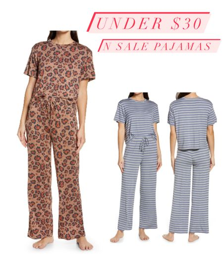 Pajamas with great reviews - can't wait to try these out. Nordstrom sale pick - under $30  #LTKsalealert #LTKstyletip #LTKunder50