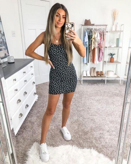 Mini dress from Windsor under $40 🤍 true to size! Linking white sneakers too all under $100 http://liketk.it/3ifFx  #liketkit @liketoknow.it #LTKunder50 #LTKstyletip #LTKshoecrush
