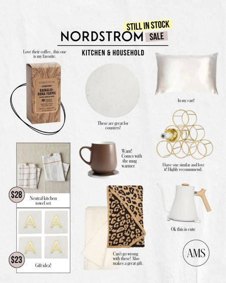NORDSTROM SALE ⭐️ Still in Stock: Kitchen & Household  Loving on these home items for your master bedroom, living room, and kitchen! Great price points and so many good gift options as well to snap while they are still on sale.   #LTKsalealert #LTKstyletip #LTKhome