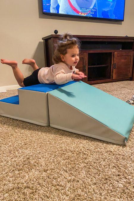 Toddler soft climber ! Gift idea http://liketk.it/338Sm #liketkit @liketoknow.it #LTKbaby #LTKkids #toddlergift #babygift #crawler #play