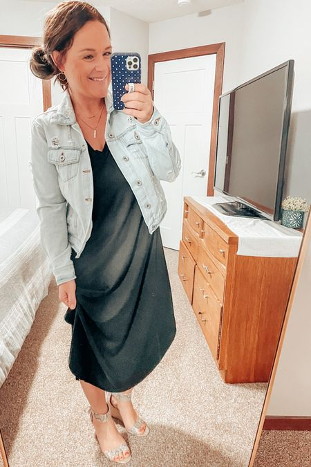Any other mamas out there need the perfect black dress for summer outings? This is it! Not only is it so comfortable, it's not see-through, it's stretchy, and so light weight! You can dress it up or down or wear it around town while you're running errands! http://liketk.it/3eA87 #LTKunder50 #LTKstyletip #LTKworkwear #liketkit @liketoknow.it
