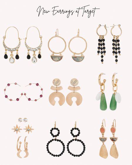 New, earrings, jewelry, women's, accessories, fall, autumn, Target   #LTKstyletip #LTKSeasonal #LTKunder50