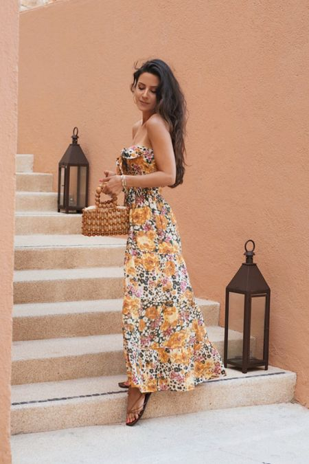 Some really good sales at bloomingdales right now - like this maxi dress I wore on vacation in cabo!  #LTKunder100 #LTKstyletip #LTKsalealert