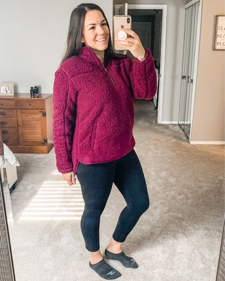 Sherpas are probably my favorite winter piece of clothing especially when it's only $14.97! Would you believe I found this at @walmart! I'm in love! I need all the colors! http://liketk.it/30e4e #liketkit @liketoknow.it #LTKfamily #LTKunder50