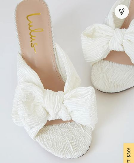 If youre looking for a Loeffler  Randal dupe for wedding shoes, look no further. $38 and COMFY! I sized up a half size.   #LTKstyletip #LTKshoecrush #LTKwedding