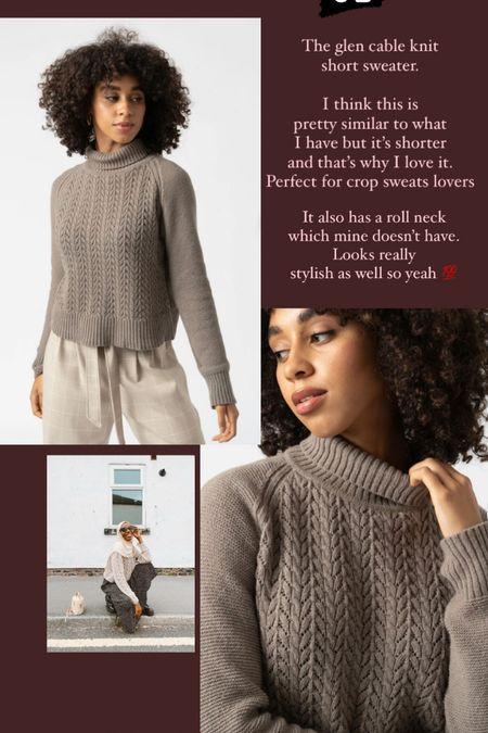 Linked the cutest short roll neck sweaters for you.   #LTKunder50 #LTKstyletip #LTKeurope