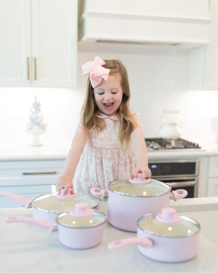 Welcome to the Chicken 🍗 Charleston Cooking show! Swipe left for the video 😂😜  #ad We're ready for all of the Holiday cooking with the cutest pink non-stick set from @walmart!   I've also rounded up some of my favorite pieces 💕💙🌲 all from Walmart on my @shop.ltk app page! Link in bio!   #WalmartHome   #LTKfamily #LTKSeasonal #LTKHoliday