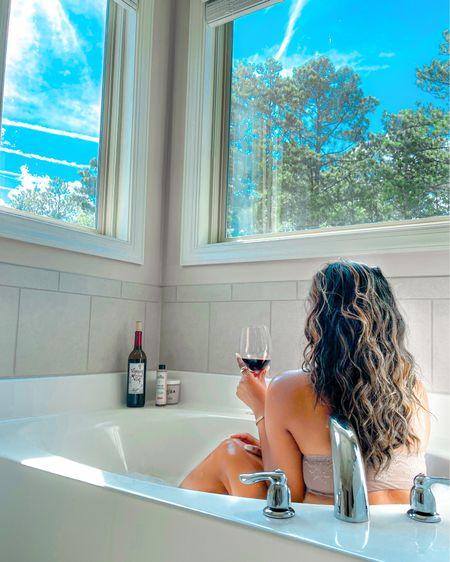 Spanx, cozy style, bathroom decor, bandeau #liketkit http://liketk.it/3ijQe @liketoknow.it #LTKbeauty #LTKhome