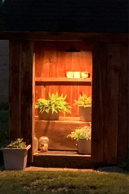 Faux plants for outdoor sheds. They add color in the spring and 'no' maintenance ha  #LTKunder50 #LTKhome