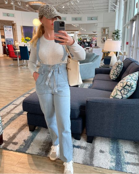 Had so much fun furniture shopping with my girl the other day. They had the perfect mirror for a pic 😂 I love a good pair of denim overalls to throw on for a cute casual easy look! Link to this outfit is in my bio under my LIKEtoKNOW.it ~ http://liketk.it/3f72l #liketkit @liketoknow.it   To shop more of my looks:  1️⃣ You can instantly shop all of my looks by following me on the LIKEtoKNOW.it shopping app ➡️ susan_missimo 2️⃣ Screenshot this pic to get shoppable product details with the LIKEtoKNOW.it shopping app  3️⃣ Dm me with any questions