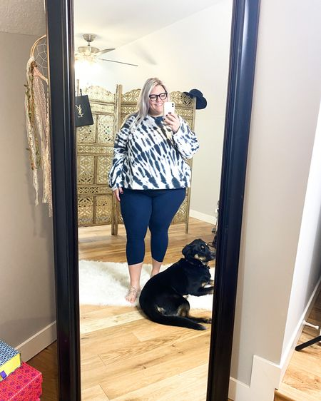 These leggings are SO COMFY! Legit went and bought three more pairs. 🙌🏽🙏🏽👏🏽   Plus-size Nordstrom Trunk Club try on. Athletic wear, and it feels SO good!!    http://liketk.it/37rgC #liketkit #LTKunder100 #LTKunder50 #LTKcurves @liketoknow.it    You can instantly shop my looks by following me on the LIKEtoKNOW.it shopping app