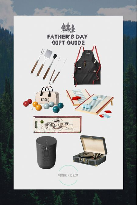 Father's Day Gift Guide for stuff Dad's do. Grilling (he needs this personalized apron), Yard Games, Music, and more.    http://liketk.it/3h2ZI #liketkit @liketoknow.it #LTKtravel #LTKunder100 #LTKunder50 @liketoknow.it.family Shop your screenshot of this pic with the LIKEtoKNOW.it shopping app