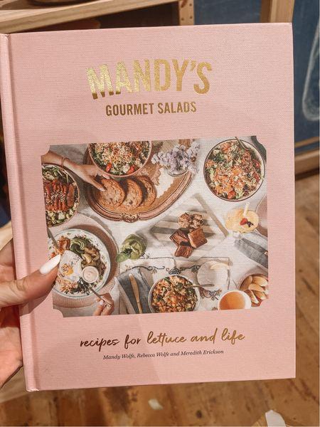 Gourmet salads book - Anthropologie find  - recipe book   #LTKtravel #LTKhome #LTKunder50