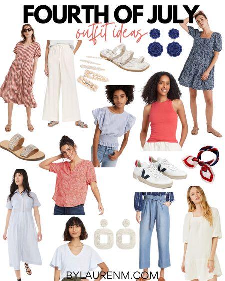 Fourth of July outfit ideas. 4th of July. Red, white, and Blue outfits. #liketkit @liketoknow.it http://liketk.it/3gAU9 #4thofjuly #usa #fourthofjuly #target #madewell #walmart #amazon @madewell @target @walmart