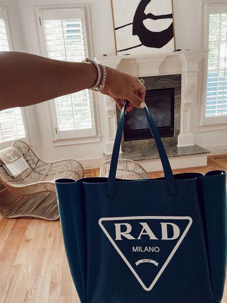 Rad bag!! Super cute tote for beach or travel   #LTKitbag #LTKsalealert #LTKtravel