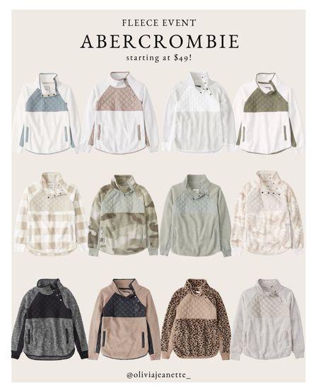 Abercrombie fleece event! Starting at $49   #LTKunder100 #LTKsalealert #LTKunder50