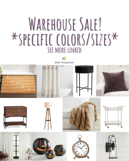 Warehouse sale! Be sure to check color/size when you add to cart to be sure you're getting the selection that's on sale.  #LTKsalealert #LTKhome #LTKfamily