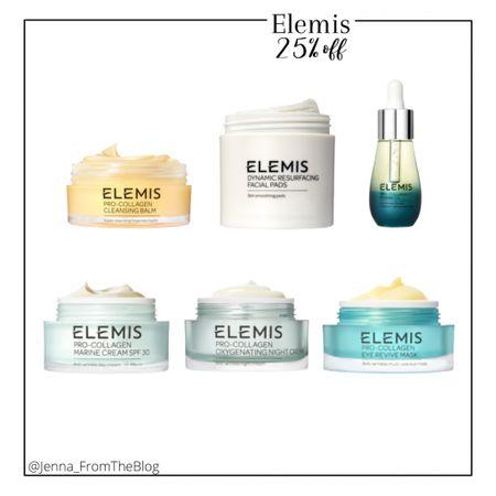 Love the Elemis resurfacing pads and I've heard rave reviews on these other Elemis items as well!   #ltkgiftguide #skincare #antiagingskincare  #LTKbeauty #LTKsalealert #LTKSale