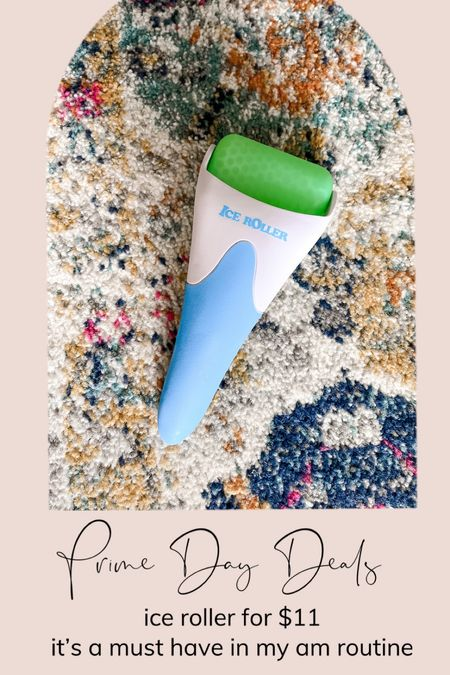 Amazon prime day deal alert! Ice roller for under $11! LATME Ice Roller for Face Eyes,Womens Gifts,Face Roller Massager Puffiness Migraine Pain Relief and Minor Injury(Green)  #LTKsalealert #LTKunder50 #LTKbeauty