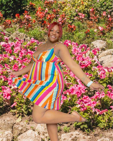 The cutest mini dress with pockets 👗 🌺. Wearing a size large, true to size and comfortable for the girls. #amazonfashion #minidress #summerfashion #midsize #vacationoutfits http://liketk.it/3hcoC #liketkit @liketoknow.it #LTKstyletip #LTKunder50