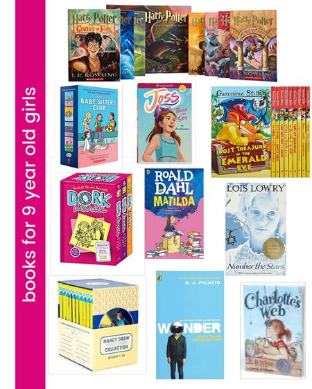 The very best books for the 9 year old girl that you have been trying to find the perfect gift idea for. Check out these great age appropriate books that your 9 year old will love! http://liketk.it/34U3u #liketkit @liketoknow.it #LTKkids #LTKfamily #LTKunder50 @liketoknow.it.family Shop your screenshot of this pic with the LIKEtoKNOW.it shopping app