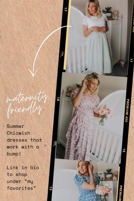 http://liketk.it/3iMZA #liketkit @liketoknow.it #LTKbaby #LTKbeauty #LTKstyletip   Dresses to wear this summer that work with the bump/maternity friendly!