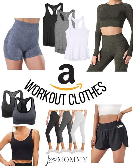 Amazon work out finds! Workout clothes can be expensive but these I found on Amazon are super affordable!  #LTKunder50 #LTKfit #LTKstyletip