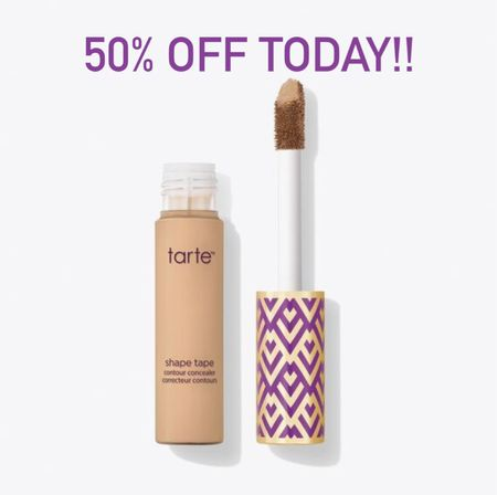 Tarte shape tape 50% off today! Create a free account or login for discount!!  #laurabeverlin  #LTKbeauty #LTKsalealert #LTKunder50