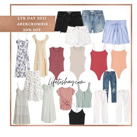 Abercrombie sales! Abercrombie summer outfits! Shop my favorite Abercrombie finds!   #LTKDay #LTKSeasonal #LTKsalealert