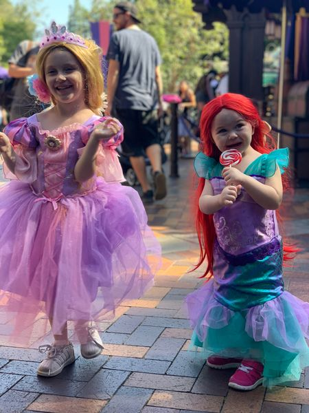 Dressing up for Halloween is our favorite! Tagged similar costumes for the girls Rapunzel dress and hair. Also linked the Ariel dress and wig! #competition   #LTKSeasonal #LTKkids #LTKtravel