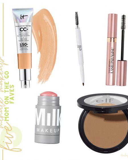 5 minute makeup favorites. Perfect for anyone on the go. My go-to mom makeup favorites http://liketk.it/3k4tN #liketkit @liketoknow.it   #LTKbeauty #LTKunder50 #LTKbaby