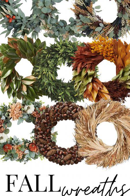 Fall Wreaths under $100 #fall #falldecor #home   #LTKunder100 #LTKSeasonal #LTKstyletip