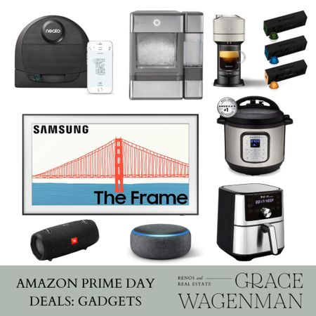 It's Prime Day! I'm going to be sharing some of my favorite items and wishlist items today and tomorrow. The Neato robot vacuum is a LIFE SAVER if you have pets! We have this exact one and almost never have to get our vacuum out between house cleanings now since it runs every morning!   #LTKhome #LTKsalealert #LTKunder100