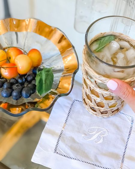 It's spritzer o'clock! My favorite, refreshing  summer cocktail jazzed up with fresh produce and even a cherry on top 🍒 http://liketk.it/2TLfu #liketkit @liketoknow.it #LTKhome #StayHomeWithLTK @liketoknow.it.home Screenshot this pic to get shoppable product details with the LIKEtoKNOW.it shopping app