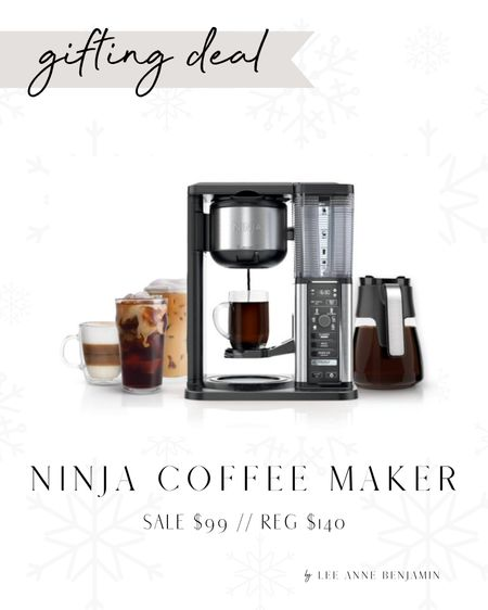 Ninja Specialty coffee maker on sale at Walmart! $40 off. Gift idea under $100! Sale $99 // Reg $140  #LTKGiftGuide #LTKHoliday #LTKSeasonal