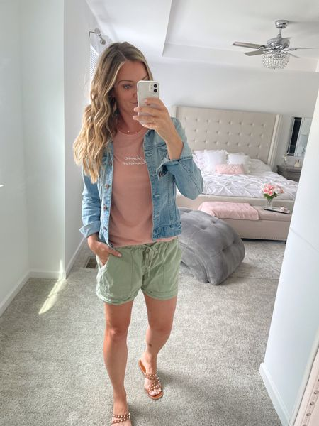 I love these shorts! Come in different colors.   #LTKstyletip #LTKunder50 #LTKshoecrush
