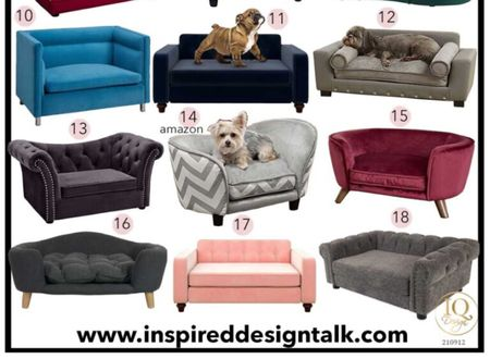 Awesome pet sofa styles to update your fall decor. Love these dog beds to update my living room furniture.   Pet bed, dog furniture, fall decor, living room inspiration, living room decor, home decor, amazon finds, Walmart finds, target finds.   Follow me on LIKEtoKNOW.it for more awesome home finds  #LTKhome #LTKfamily #LTKstyletip