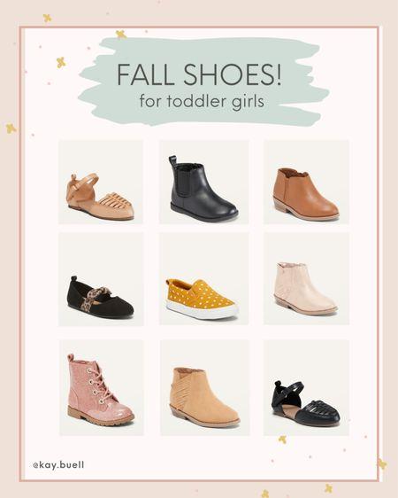 Fall shoes for toddler girls!  #LTKfamily #LTKSeasonal #LTKkids