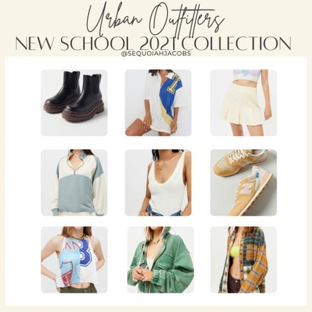 Urban Outfitters new arrivals New school 2021 collection, back to school looks, casual, fall outfit.  #LTKunder100 #LTKshoecrush #LTKstyletip