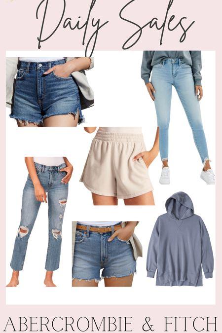 Daily Sales: 40% off styled styles at Abercrombie & Fitch   #LTKsalealert #LTKunder50 #LTKunder100