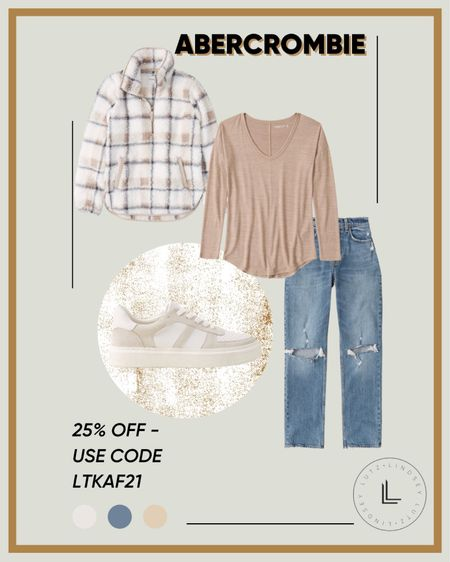 #LTKSALE - Abercrombie #ootd - Fall outfit inspiration, fall outfit ideas   #LTKsalealert #LTKSale #LTKSeasonal