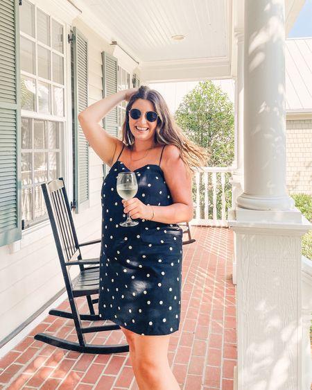 Cutest polka dot dress I ever did see 💃🏼  #LTKSeasonal #LTKunder50 #LTKstyletip