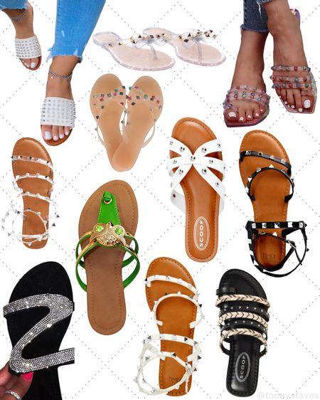 Studded sandals @walmart Scroll down on the LIKEtoKNOW.it shopping app to get the product details for this look and other finds. ✨Follow for more✨  #LTKunder50 #LTKunder100 #LTKsalealert #LTKfit #LTKshoecrush #LTKstyletip #StayHomeWithLTK #LTKbeauty #LTKitbag #LTKtravel #LTKswim #LTKworkwear #LTKhome #LTKday #LTKgiftspo #LTKnewyear #LTKbaby #LTKcurves #LTKfamily #New #TodaysFaves http://liketk.it/3hNwb #liketkit @liketoknow.it