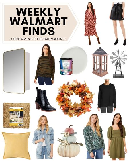 Weekly Walmart Finds!!  Dreaming of Homemaking | #DreamingofHomemaking   #LTKhome #LTKunder50 #LTKunder100