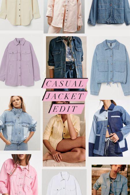 @liketoknow.it #liketkit http://liketk.it/3fRDy casual twill denim jacket