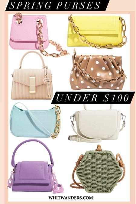 Spring bags, spring purses under $100 @liketoknow.it http://liketk.it/3bppZ #liketkit #LTKSpringSale #LTKitbag #LTKunder100