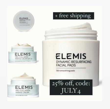 Elemis sale today! Code JULY4 saves 25% and free shipping.   #LTKbeauty #LTKunder50 #LTKsalealert