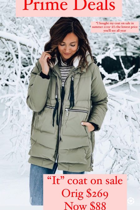 Amazon coat on sale - click on clip in coupon, then proceed to checkout to see price adjustment http://liketk.it/3ifD8 #liketkit @liketoknow.it