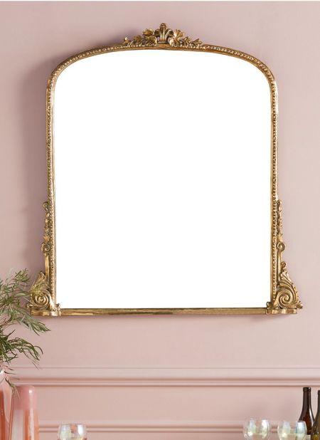 My favorite mirror that is above my fireplace is 20% off!  #LTKhome #LTKSeasonal #LTKsalealert